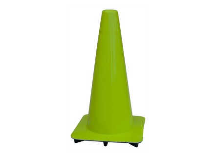 "18"" Lime Green Traffic Cones"