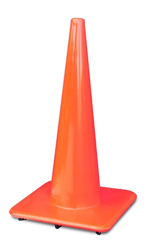 "28"" Slim Orange Traffic Cones"