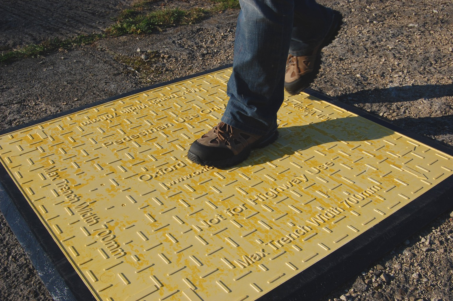 Pedestrian Trench Cover