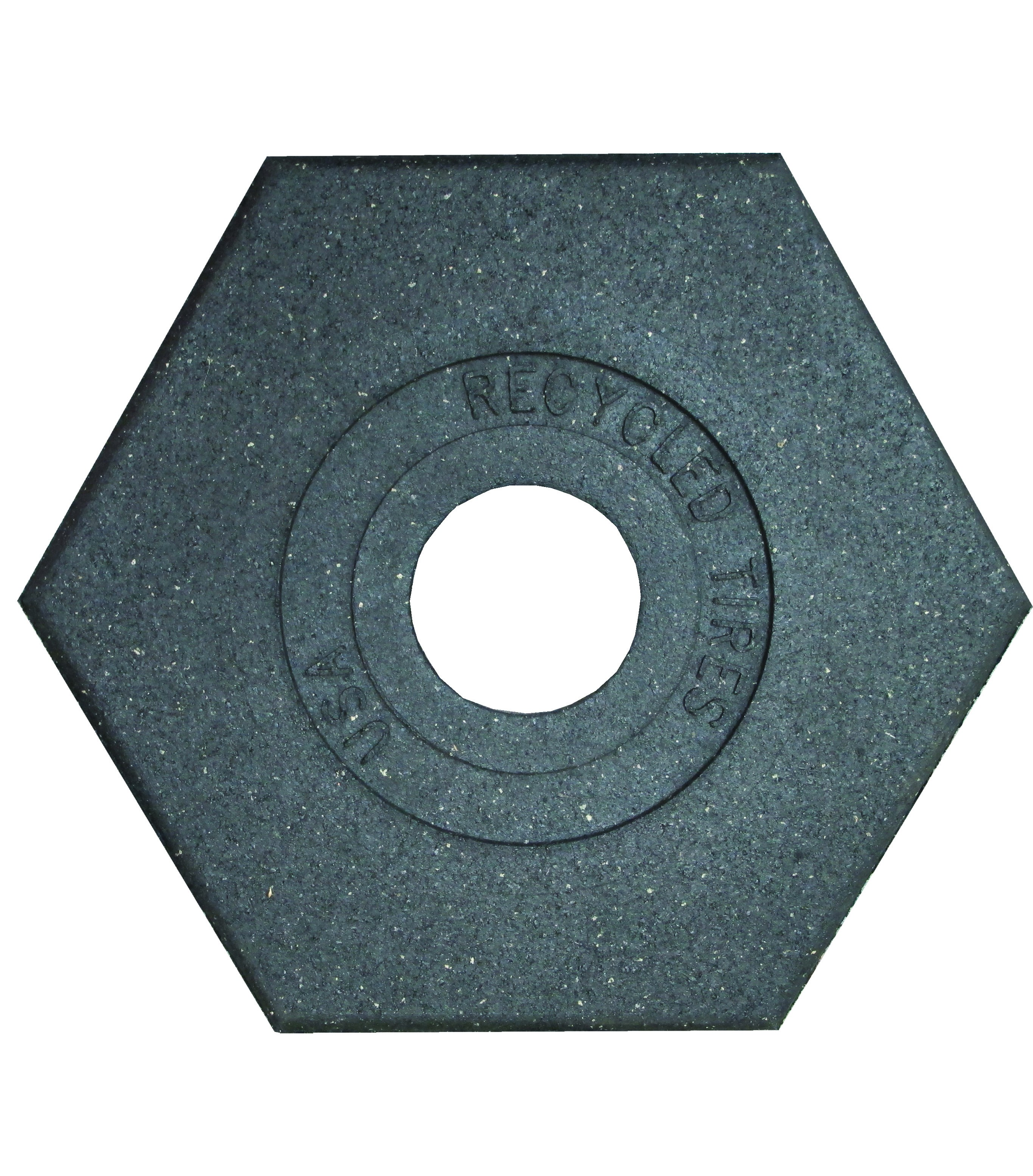 Recycled Rubber Delineator Base