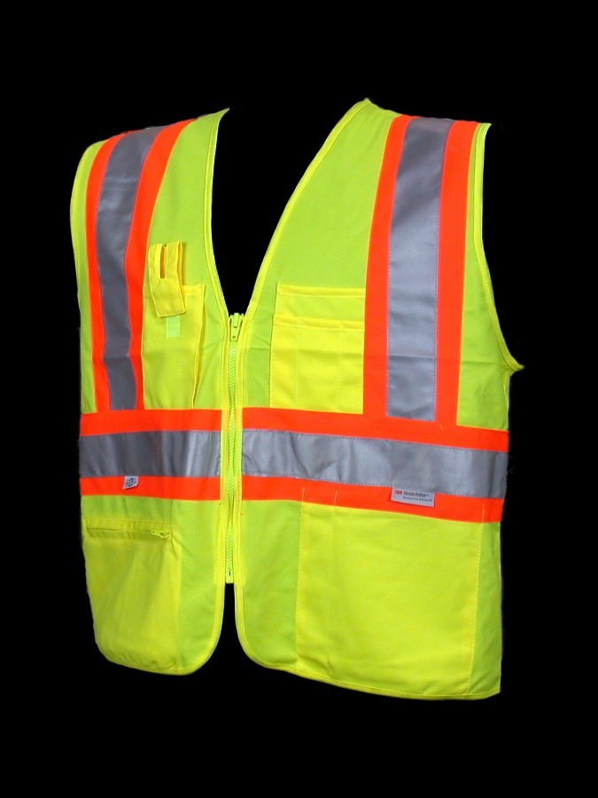 V1100 Class 2 Lime Safety Vest