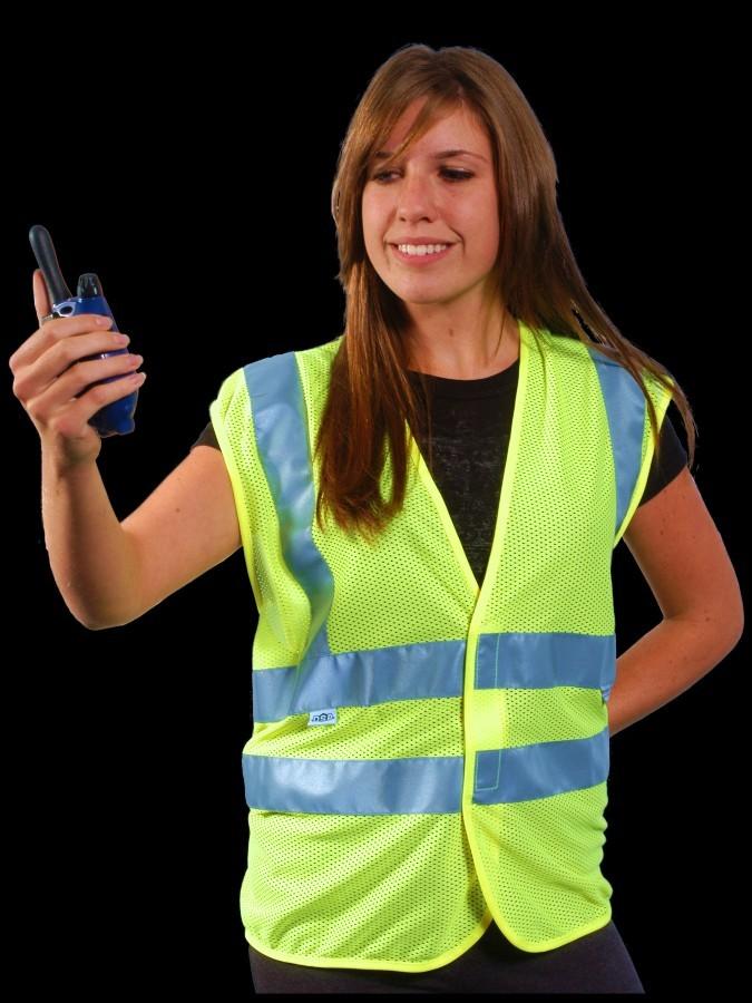 V30-2 Class 2 Lime Safety Vest