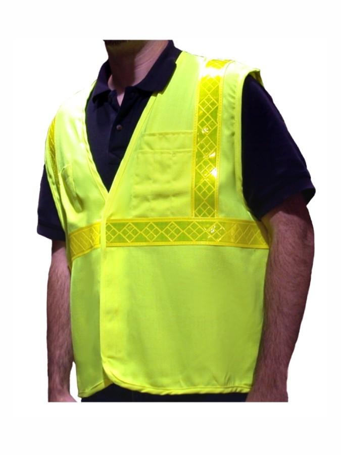 VFR4100 Class 2 Orange Fire Resistant Vest