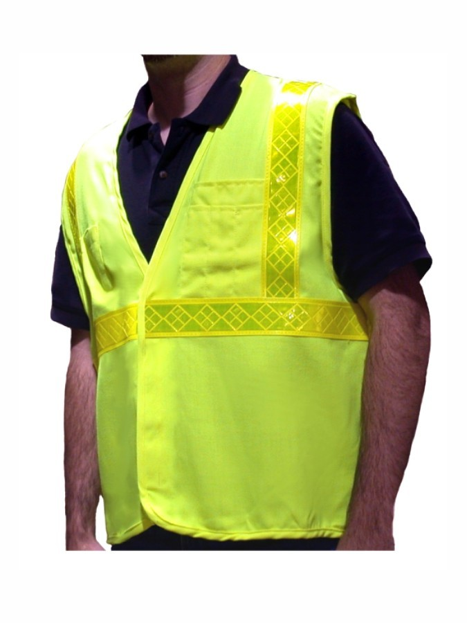 VFR3100 Class 2 Lime Fire Resistant Safety Vest