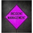 RUR36PNK-200 Incident Management Roll-Up Signs