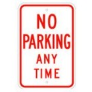 "R-200RA5 12"" x 18"" EGR Grade Assigned Parking Only Sign"