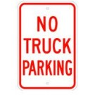 "R-55RA5 12"" x 18"" EGR Grade No Truck Parking Sign"