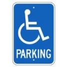 "G-40RA5 12"" x 18"" Handicap Parking Sign"