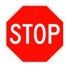 "R1-1 24"" High Intensity Stop Sign"