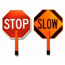 Stop/Slow Rigid Traffic Signs
