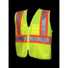 V1100 Class 2 Lime Safety Vest