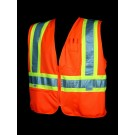 V1200 Class 2 Orange Safety Vest