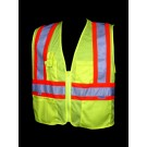 V1300 Class 2 Lime Mesh Safety Vest