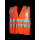 V40-2 Class 2 Orange Mesh Safety Vest