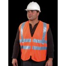 V41-2 Class 2 Orange Mesh Surveyors Vest