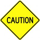 W-64   Caution Sign