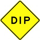 W8-2  High Intensity Dip  Sign