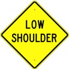 W8-9B High Intensity  Low Shoulder Sign