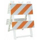 Econocade 8x24 Top Type II Traffic Barricade / 110-T8B8