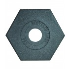 18 lb Recycled Rubber Delineator Base
