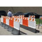 Strongwall ADA Barricade - with Reflective Sheeting and base