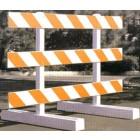 Break-Away 10' Type III Plasticade Barricade
