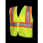 Class 2 Lime Safety Vest - V1100