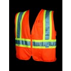 Class 2 Orange Safety Vest - V1200