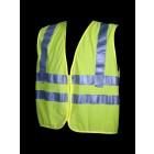 Class 2 Lime Mesh Safety Vest   V31-2