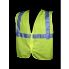 Class 2 Lime Mesh Safety Vest - V31