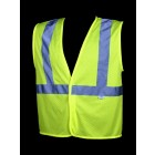 Class 2 Lime Mesh Safety Vest - VB30