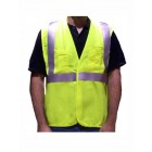 Class 2 Lime Fire Resistant Safety Vest - VFR3000
