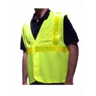 Class 2 Orange Fire Resistant Safety Vest - VFR4100