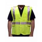 Class 2 Lime Fire Resistant Safety Vest - VFR3200